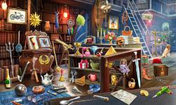 CrimeScene Evie's Desk