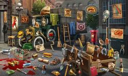 CrimeScene Warehouse Corner