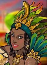 Mujer brasileña sin nombre