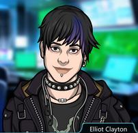 Elliot Sonriendo