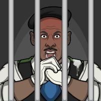 Reggie en prisión