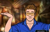 Jack bailando como egipcio