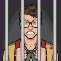 Axel en prisión