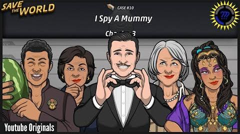 Criminal Case Save The World! Case 10 - I Spy a Mummy Arrest Killer
