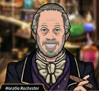 Horatio en El candidato maquiavélico