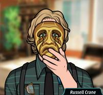 28 Russell Con la máscara del asesino de Scott Lee Allan