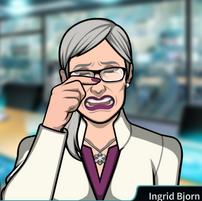 Ingrid llorando 1