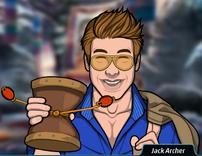 Jack jugando con el tambor