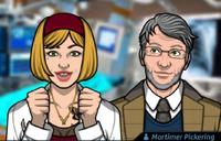 Martine y Mortimer Pickering1