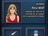 La Muerte de Rosa Wolf
