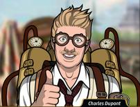 Charles usando un vaporoso2