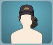 Polis Şapkası Topuz