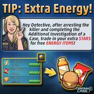 TIP - Extra Energy