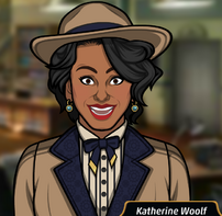 Katherine en Una Baja en la Bolsa