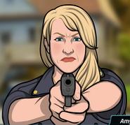 Silahını doğrulturken