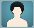 Kıvırcık Afro