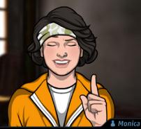 Mónica en Truco o Trato