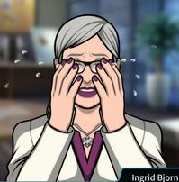 Ingrid llorando 3