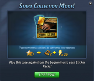 Collection Mode - Start