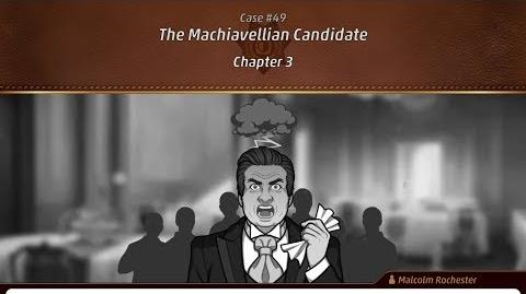 Criminal Case Mysteries of the Past Case 49 - The Machiavellian Candidate Chapter 3