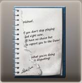 Victim's Notes