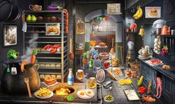 CrimeScene Kitchen