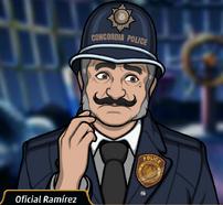 Ramirez en El Candidato Maquiavélico