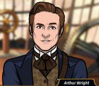 Arthur sonriendo