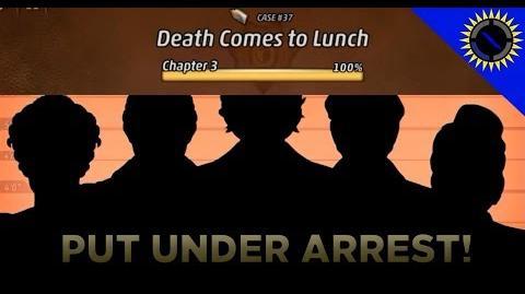 Criminal Case Mysteries of the Past Case 37 - Death Comes to Lunch Arrest Killer