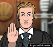 Judge Justin Lawson