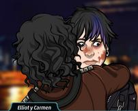 Carmen abrazado por Carmen