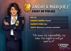 Descripción de Andrea