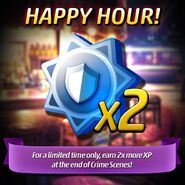 HappyHour 2x more XP2016