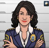 Andrea, como apareció en Los Lazos que Unen