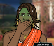 Gloria asqueada