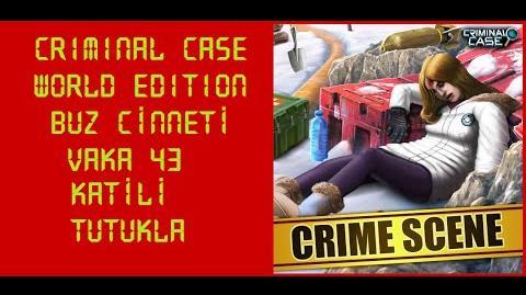 Criminal Case World Edition - Vaka 43 - Buz Cinneti - Katili Tutukla