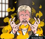 Klaus en llamas