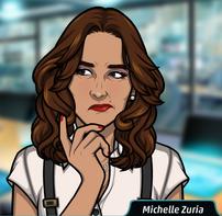 Michelle pensando 2