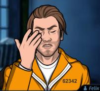 Felix uniforme prisión