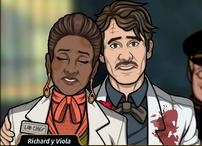 Richard y Viola 1