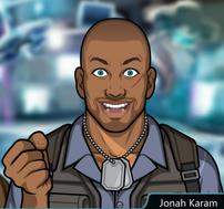 Jonah emocionado