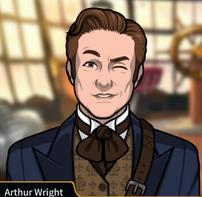 Arthur guiñando