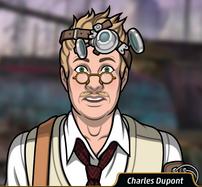 Charles shockeado