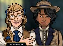Evie y Katherine 4