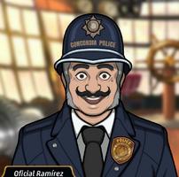 Agente Ramírez en Un Trago Abrasador