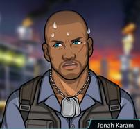 Jonah sudando 1
