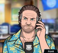 Frank Con el telefono