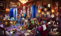 CrimeScene Diego's Living Room