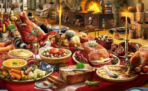 Mesa de Banquete de Peregrinos, 1643 - Duelo Sangriento