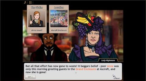 WHAT IS THAT?! - Criminal Case Mysteries of the Past Case 40 - Get Off Your High Horses Chapter 1